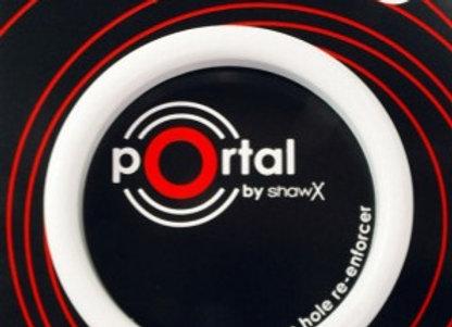 Shaw Portal 5 inch Drum Mic Hole Re-Enforcer -White