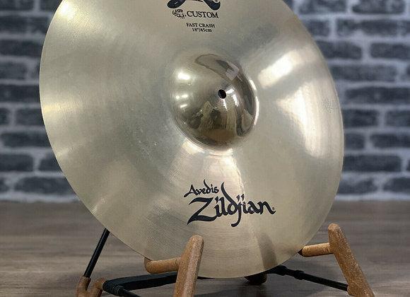 "Zildjian 18"" A Custom Fast Crash Cymbal #410"