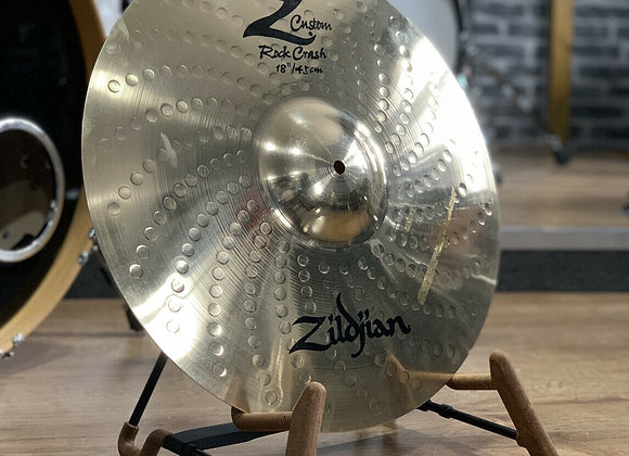 "Zildjian 18"" Z Custom Rock Crash Cymbal #400"