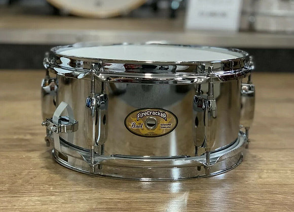 """Pearl Fire Cracker Snare 10""""x 5"""" Metal Shell #369"""
