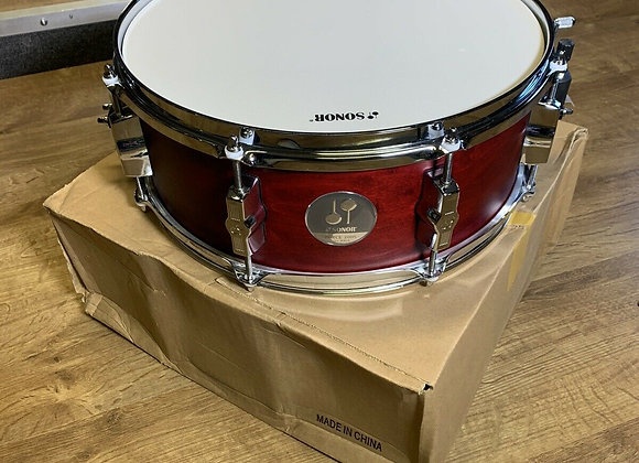 Sonor Force 2005 Satin red Snare Drum Boxed! #283