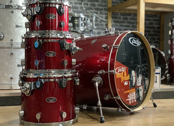 PDP Pacific Maple Drum Kit By DW Shell Pack #395