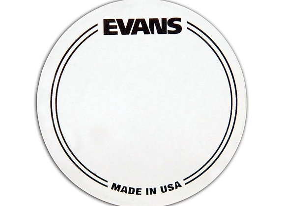 Evans EQ Single Pedal Patch, Clear Plastic