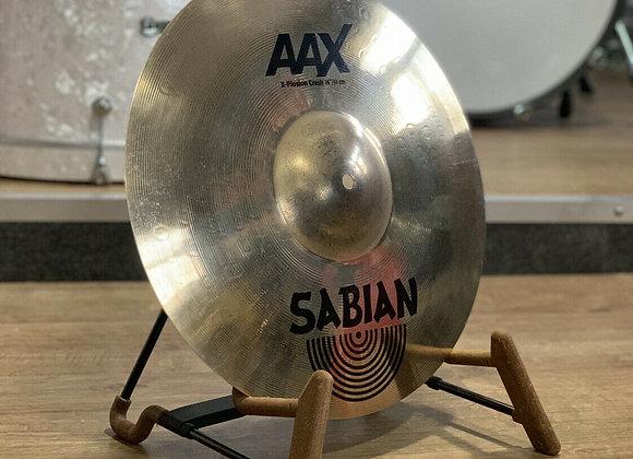 """Sabian AAX 16"""" X-plosion Crash Cymbal #415"""