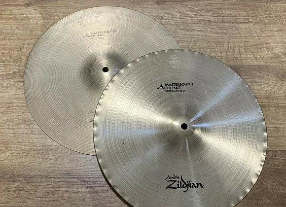 """Zildjian Avedis Mastersound 14"""" Hi-Hat Cymbals #351"""
