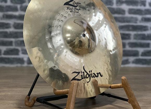 "Zildjian 16"" Z Custom Rock Crash Cymbal #410"