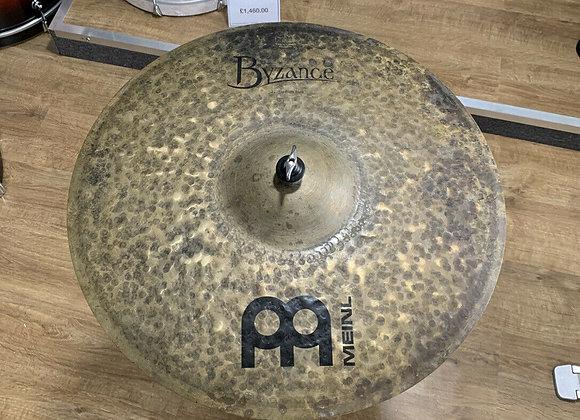 "Meinl Byzance 22"" Stadium Ride Cymbal #388"