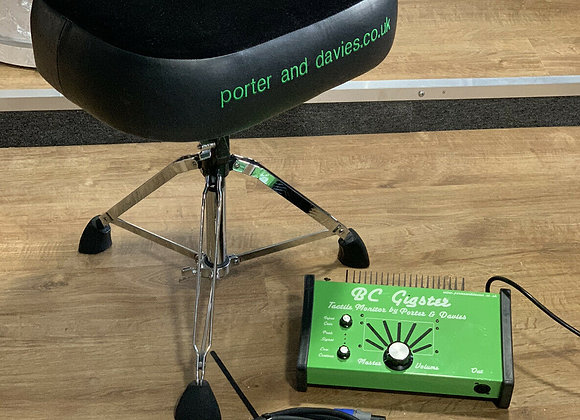 Porter & Davies BC Gigster Drum Monitoring System With BC2 Throne And Base #415