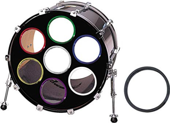 Bass Drum O's 6″ Chrome