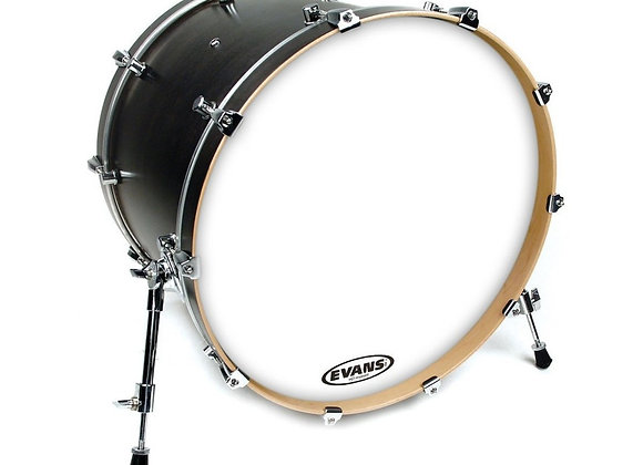"Evans EQ3 Resonant Smooth White Bass Drum Head 22"""