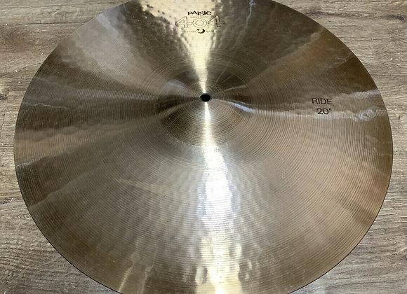 "Paiste Vintage 404 20"" Ride Cymbal #420"