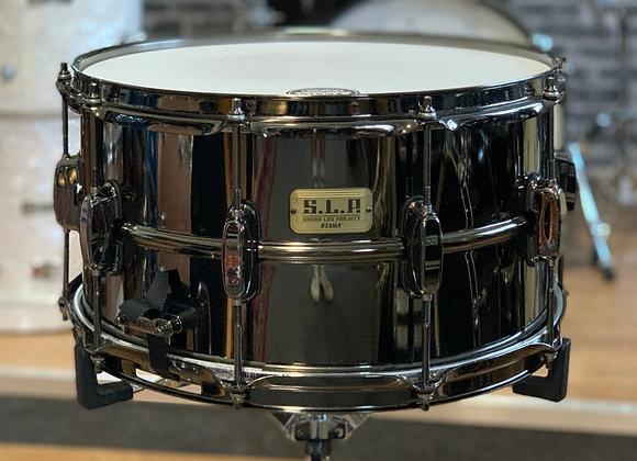 "Tama LST158 S.L.P. Snare Big Black Steel 15""x8"" Black Nickel"