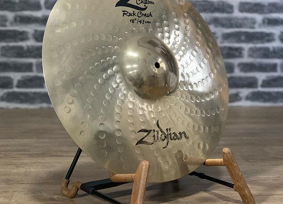 "Zildjian 18"" Z Custom Rock Crash Cymbal #410"