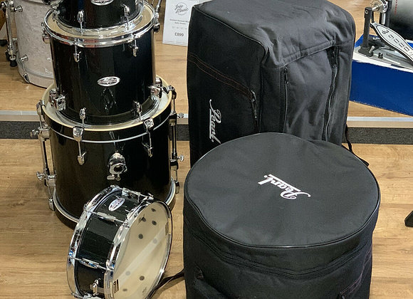 Pearl MIDTOWN Drum Kit Compact Bop Kit With Cases #407