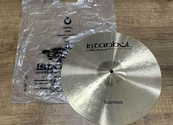 "Istanbul Mehmet Traditional Crash Cymbal 16"" HARDLY USED #335"