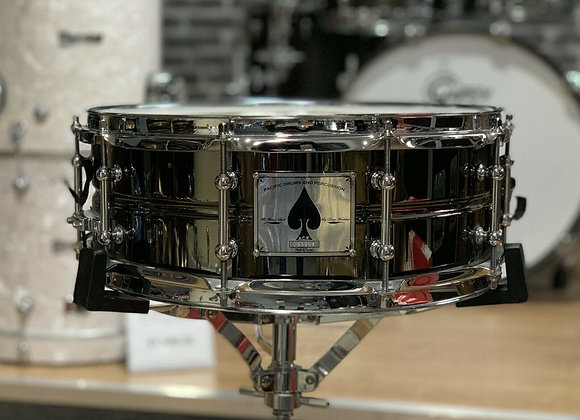 PDP By DW Royal Ace Snare Drum Brass Shell Tube Lugs Black Nickel #424