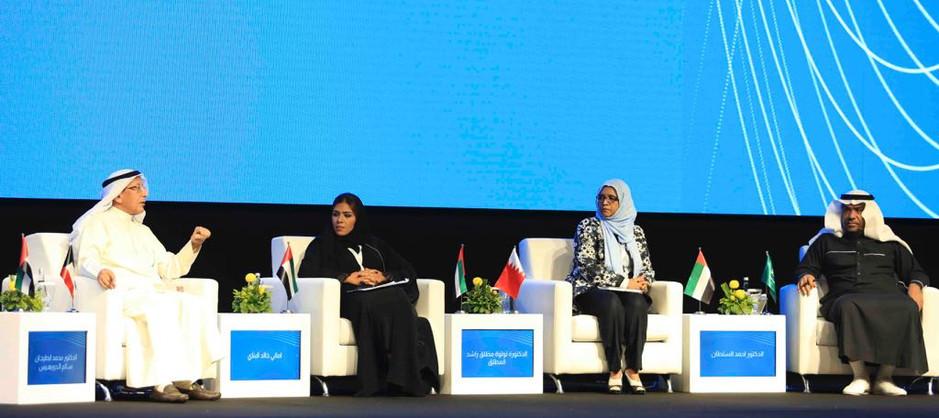 إدارة الجلسة الثانية- مؤتمر الموارد البشرية الشارقة