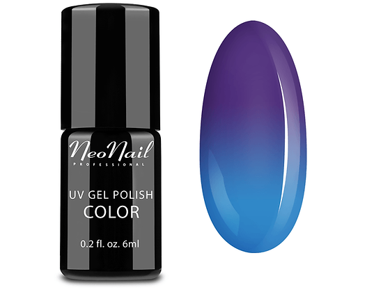 BLUE LAGOON- 6ML UV GEL POLISH` THERMO