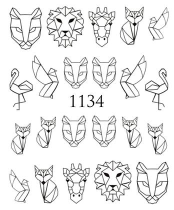 VAND KILSTERMÆRKER- 1134