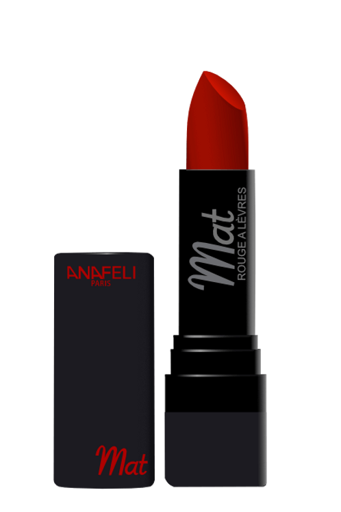 05 Rouge à lèvres mat - Rouge cerise