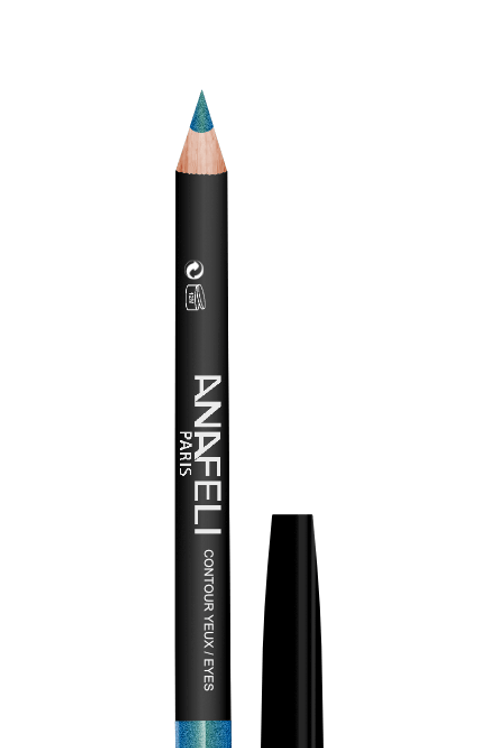 12 Crayon Contour Yeux Turquoise