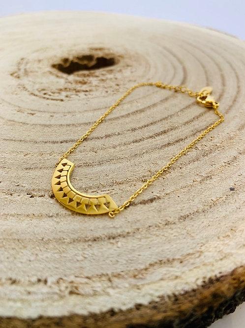 bracelet or acier inoxydable fin