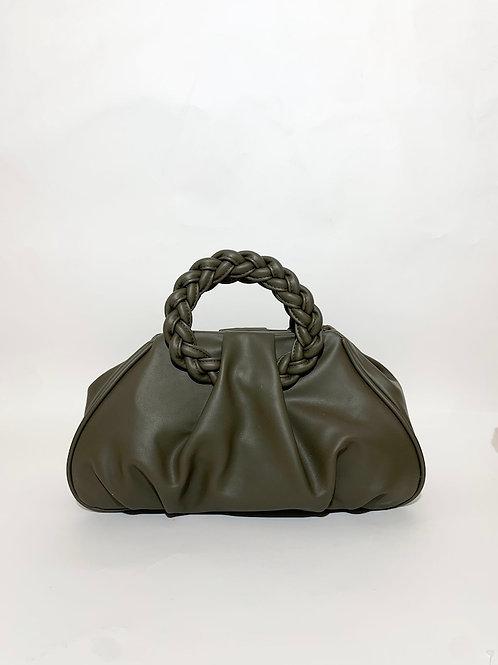 sac à main souple tendance kaki femme women france paris