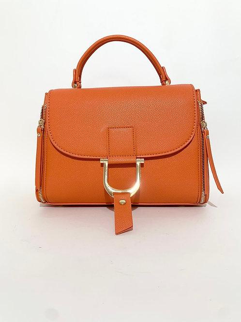 sac à main orange femme tendance 2021
