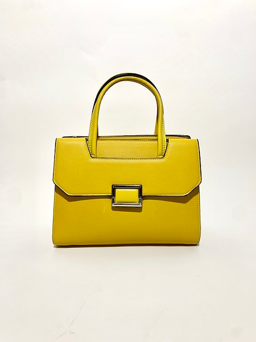 sac à main handbag women yellow jaune france paris