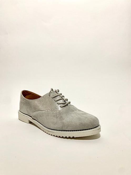 derbies argentée chaussures femme été eldorada