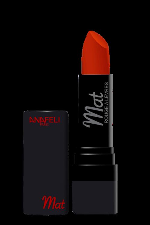 03 Rouge à lèvres mat - Rouge orangé