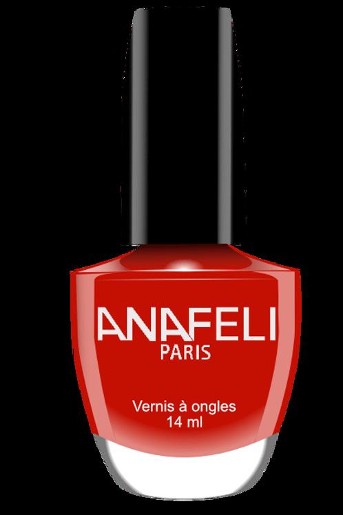 Vernis anafeli 07 rouge