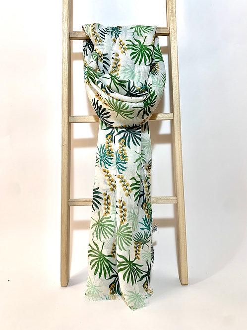 Foulards feuilles palmier