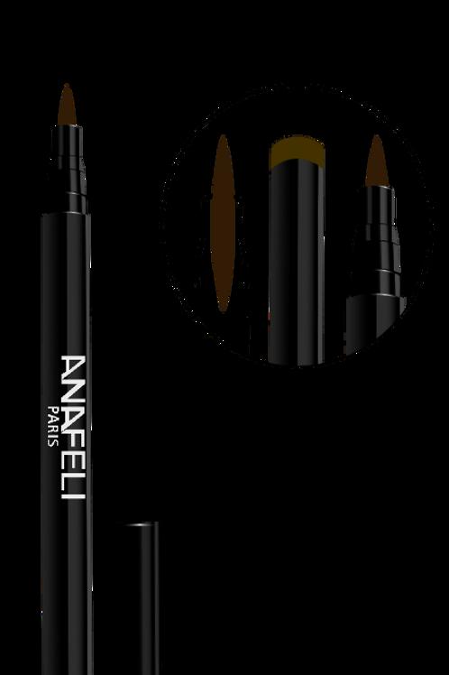 Eye-Liner Feutre marron 02