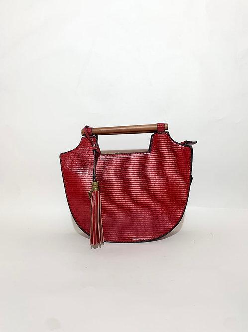 handbag women france design red color