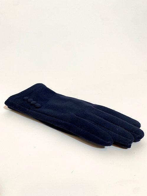Gants bleu marine pour femme