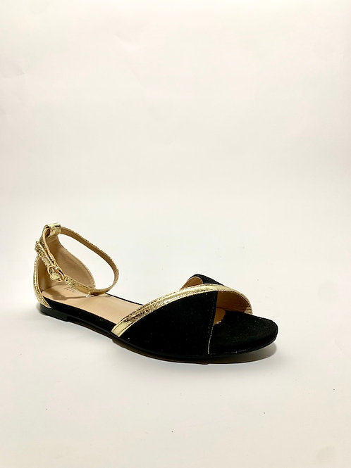 chaussures sandales noir femme eldorada