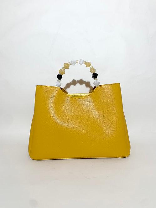 sac à main femme original jaune