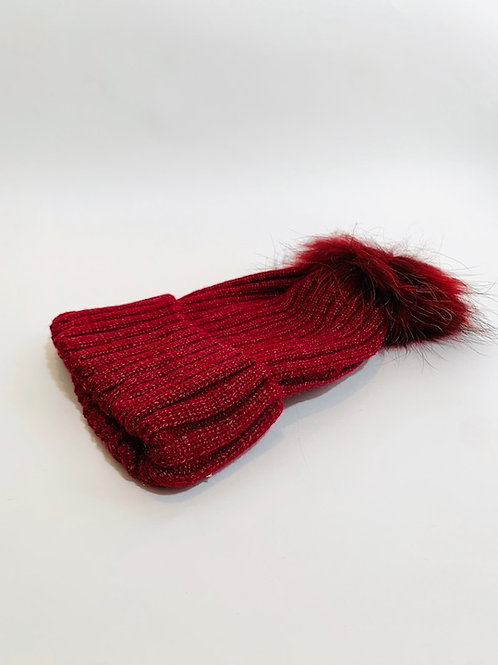 Bonnet pompom