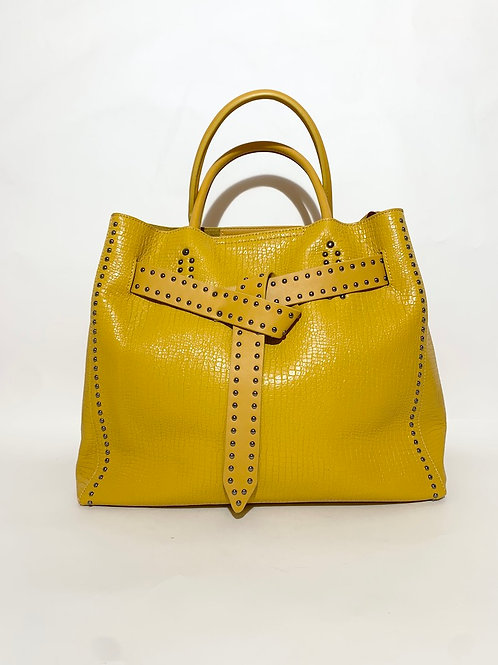 yellow bag france paris handbag for women