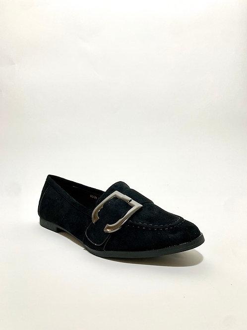 mocassin femme noir eldorada chaussures