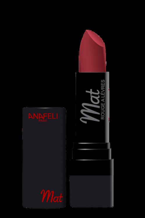 10 Rouge à lèvres mat - Rouge grenat
