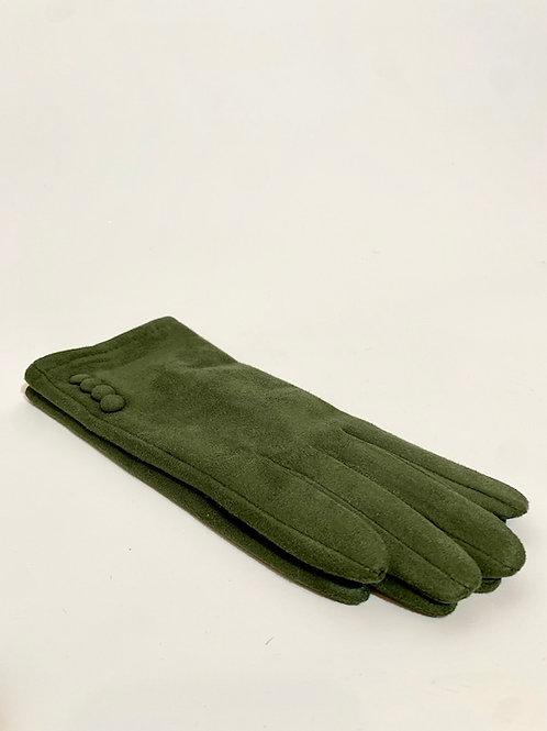 gants kaki pour femme