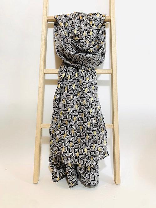 foulard femme fêtes fin d'année