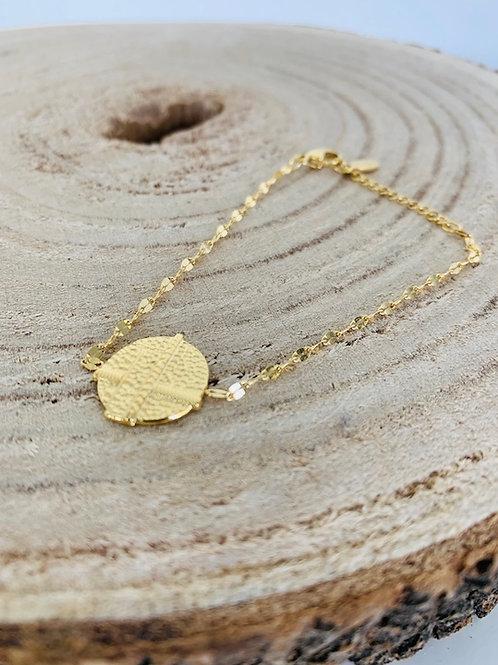 bracelet acier bijoux femme doré  blois eldorada