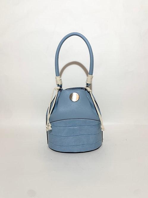 sac sceau bleu ciel femme