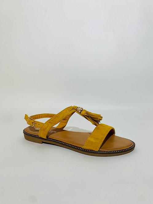 Sandales pompom #470077
