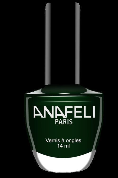 Vernis vert sapin anafeli 107