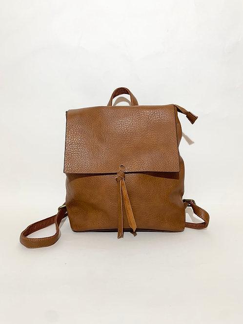 sac à dos pour femme camel marron
