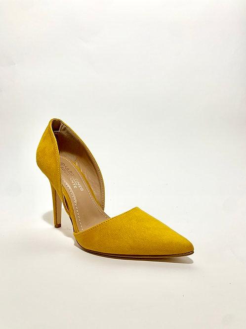 escarpins jaune femme talons aiguilles chaussures eldorada
